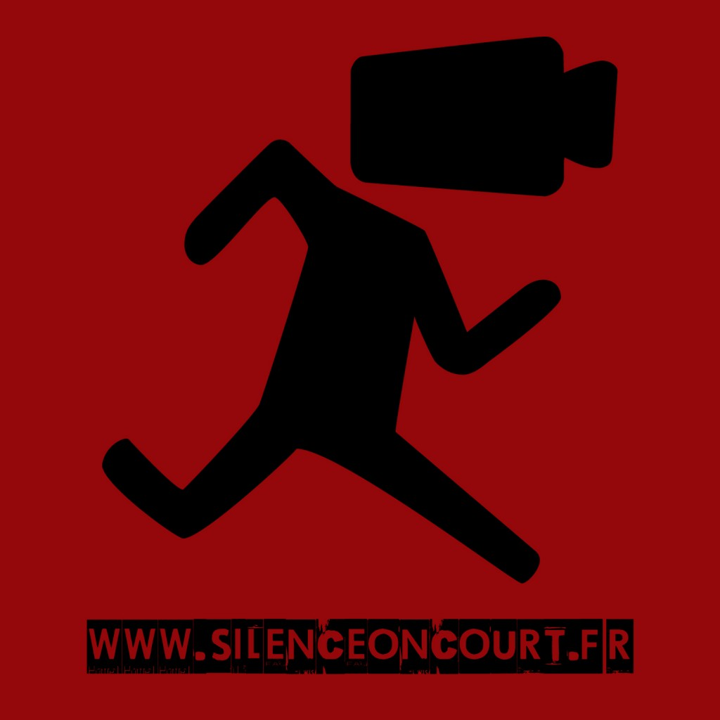 Silence on court - logo