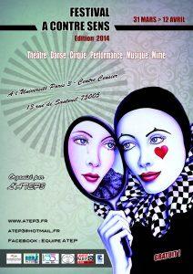 festival A Contre Sens 2014 - affiche - ATEP3