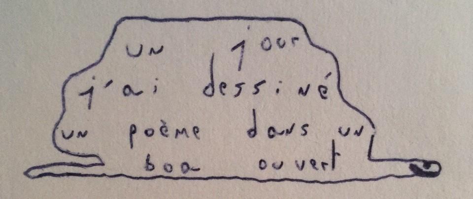 3) La poésie est le gaffeur de la vie - Pierre Comandu